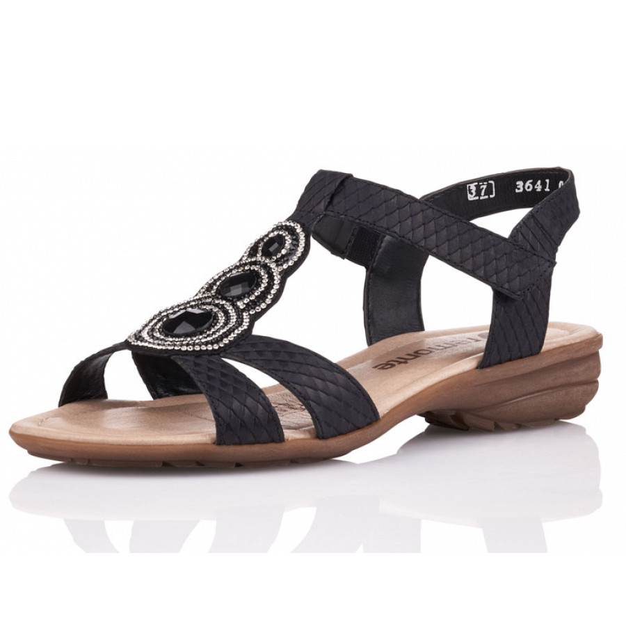REMONTE Sandale 'R3641' in schwarz | ABOUT YOU