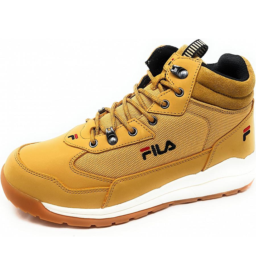 Fila Alpha Mid Boots in Chipmunk EDU