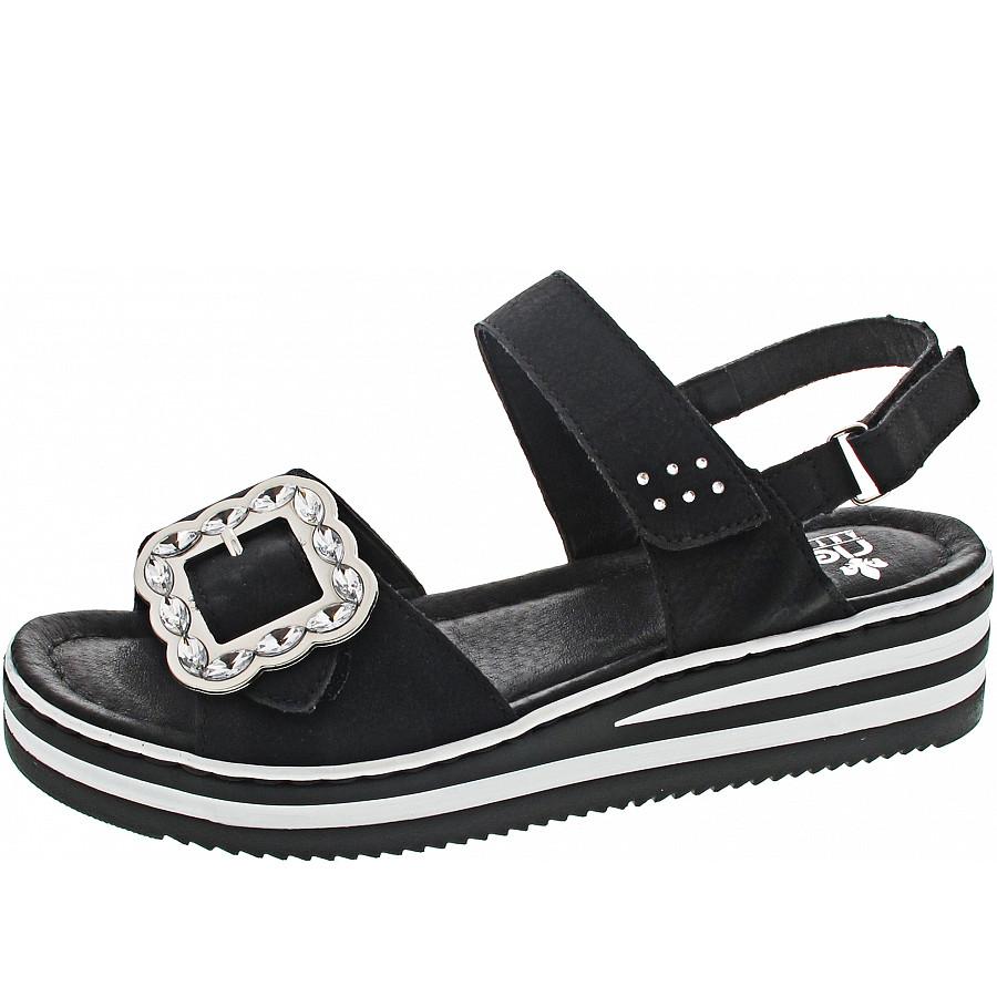 Rieker Sandale schwarz V0270 00  