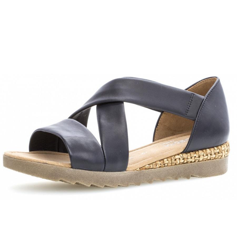 Gabor Comfort Sandalen in blau
