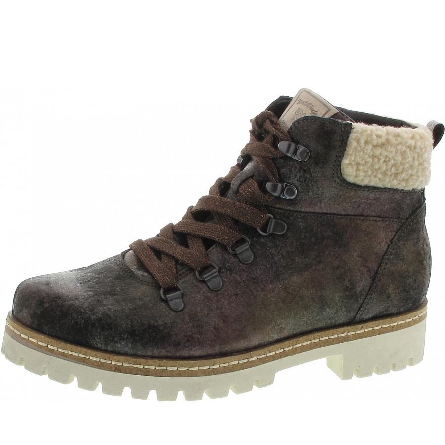 sports shoes 4806d 05ab2 Waldläufer Hanako Schnürstiefel in nuba natur lightgold