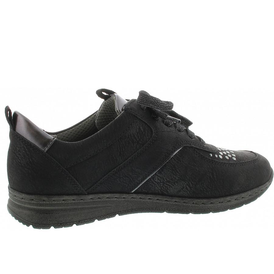jenny by ara Sapporo Sneaker schwarz-titan 6241408 Weite H
