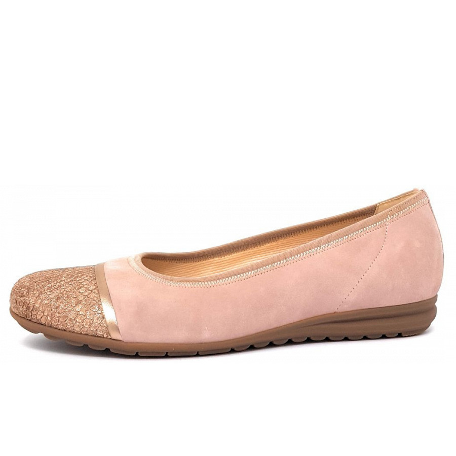 Gabor Comfort Da. Schuh Ballerina in rosa