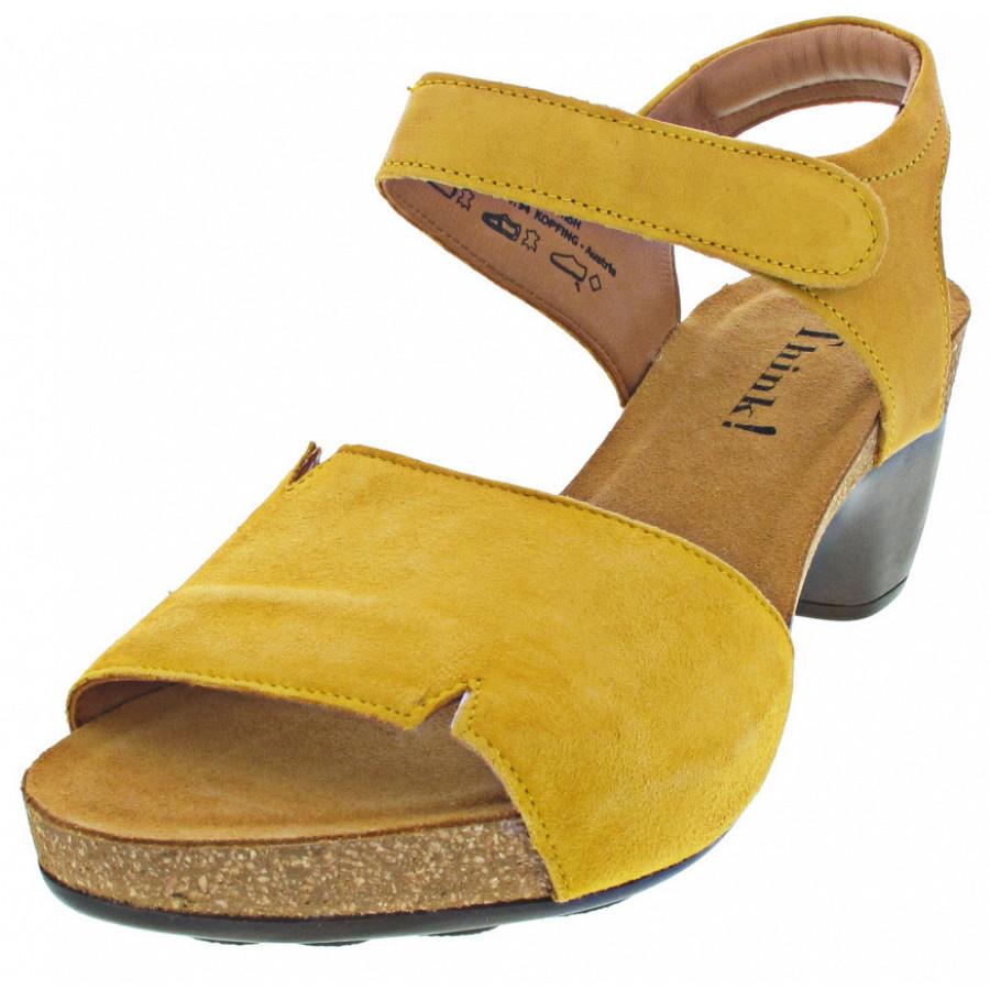 THINK Sandalette TRAUDI SAFRANKOMBI 99,95 € nur 89,95 €