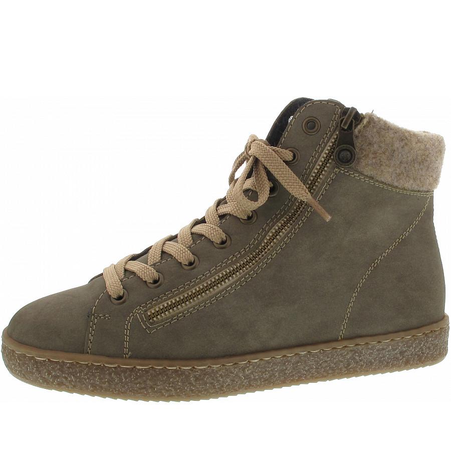 Rieker Sneaker in grau kombi