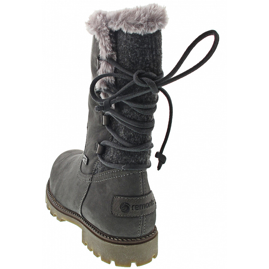 Details about Remonte Ladies Boots Asphalt (Grey) R3321 45 show original title