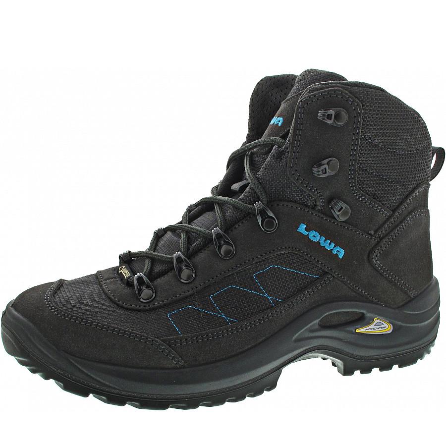 footwear many fashionable huge selection of Lowa Taurus II GTX Mid Ws Wanderschuh in anthrazit