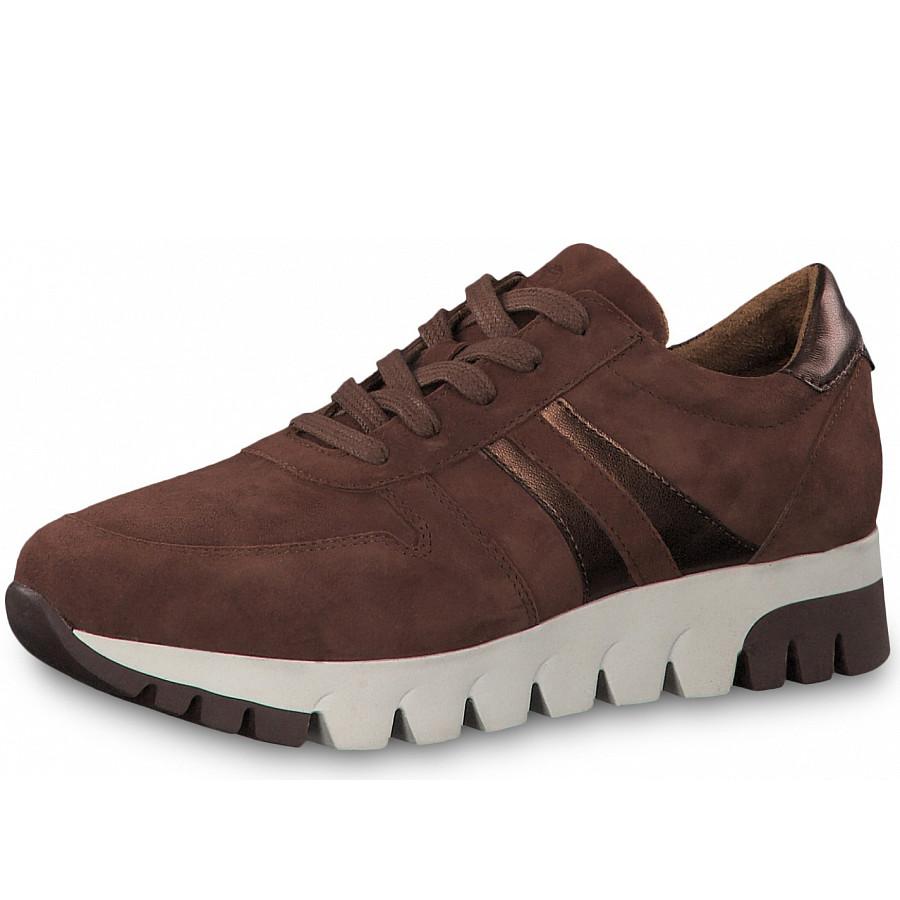 Tamaris Sneaker in castange copper