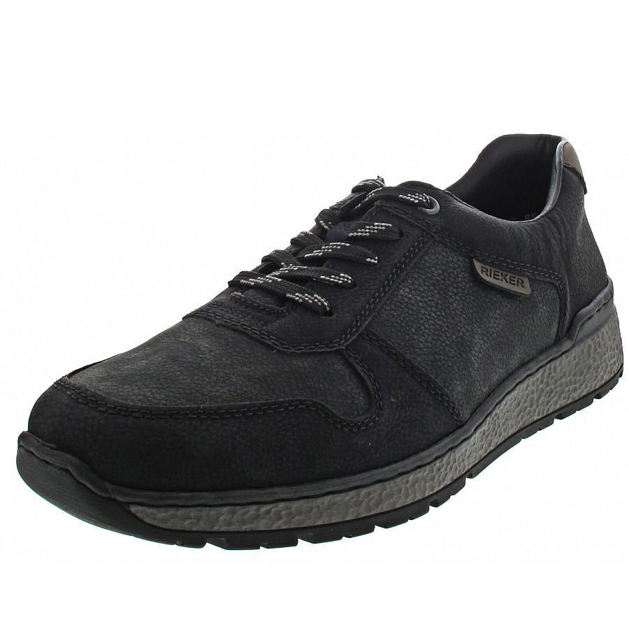 Rieker Herren Sneaker schwarz B9014 01