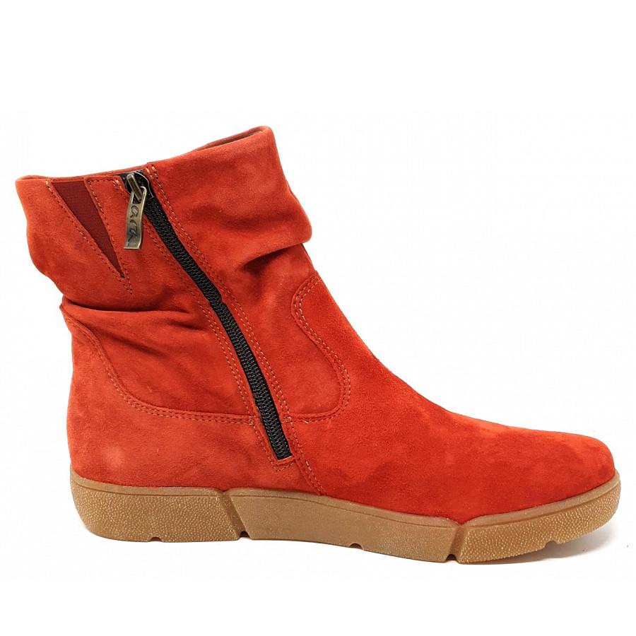 Ara Weite Stiefel in chili